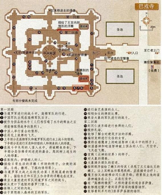 巴戎寺旅游导图