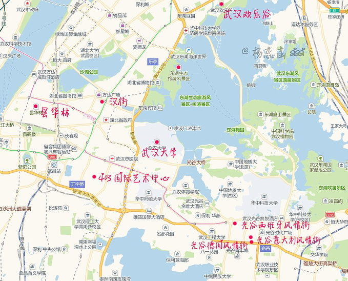 武昌推荐线路图片