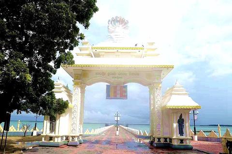 Nagadipa Purana Vihara寺庙旅游景点攻略图