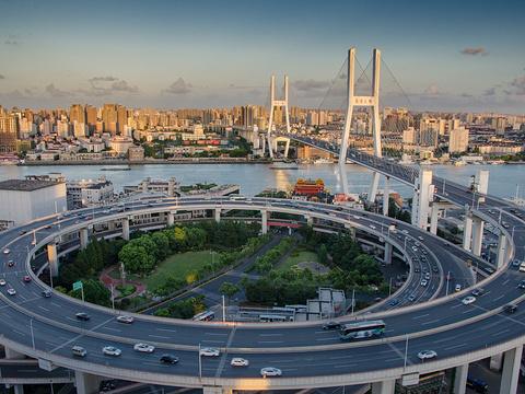 南浦大桥旅游景点图片