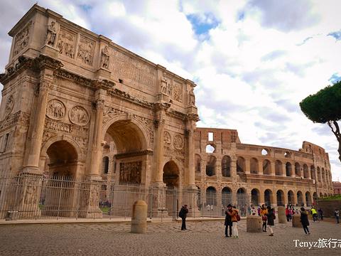 君士坦丁凯旋门旅游景点图片