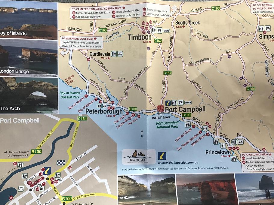十二门徒岩旅游导图
