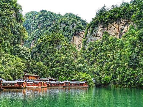 宝峰湖景区旅游景点图片