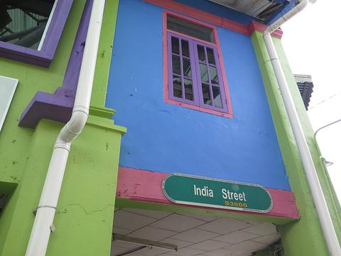印度街旅游景点攻略图