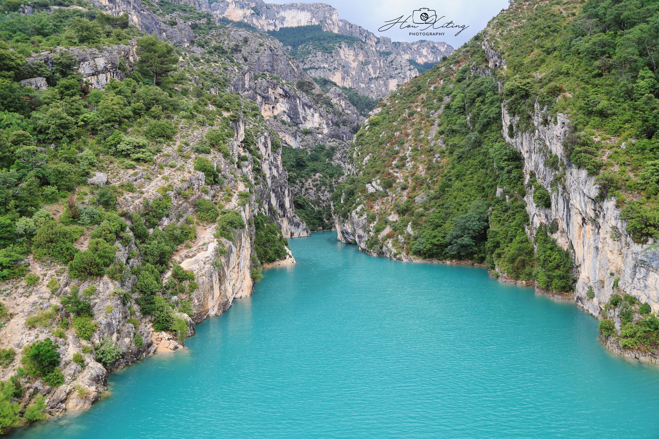 六月初夏  追逐阳光一路向南 之 南法旅行篇(1) 领略圣十字湖和峡谷的美
