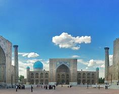 雷吉斯坦是全世界广场建筑的最佳楷模|乌兹别克斯坦撒马尔罕