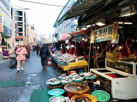釜山札嘎其市场旅游景点攻略图