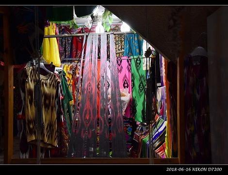 新疆国际大巴扎旅游景点攻略图
