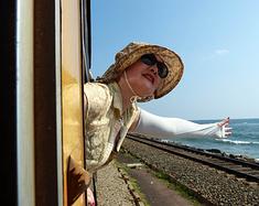 【重游斯里兰卡-16】海上火车
