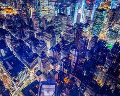中国6个绝美城市夜景,暂且放下工作的烦恼,来放松一下!