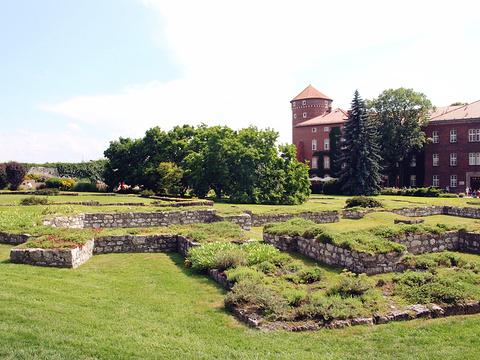 瓦维尔皇家城堡旅游景点图片