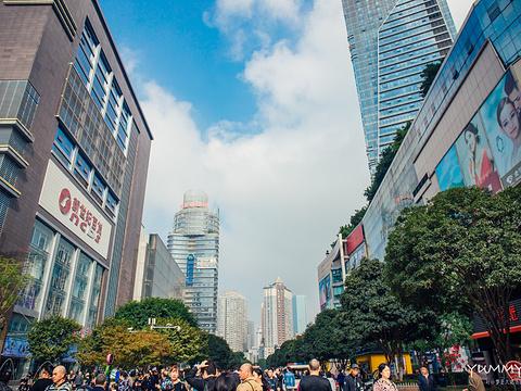 观音桥步行街旅游景点图片