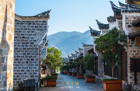 大昌古镇旅游景点攻略图