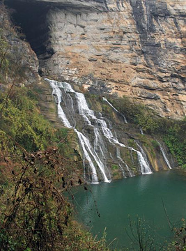 天龙峡旅游景点攻略图