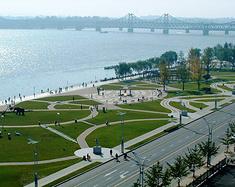 北方有一座小城 叫丹东港