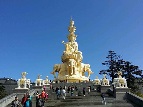 金顶旅游景点图片
