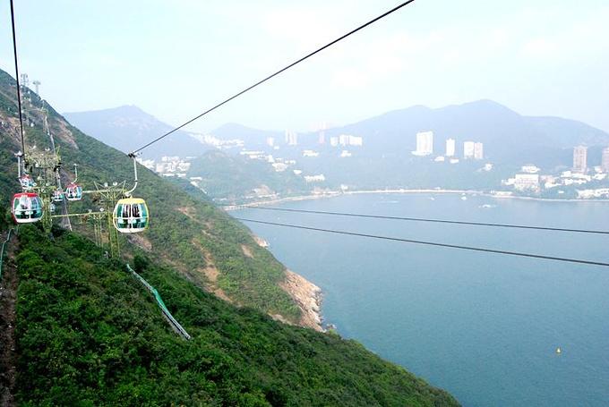4、登山缆车及海洋列车图片