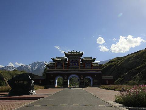 马蹄寺旅游景点图片