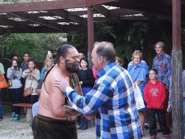 """""""这个地球上最年轻的国家的传奇历史就..._奥希内穆图毛利文化村""""的评论图片"""