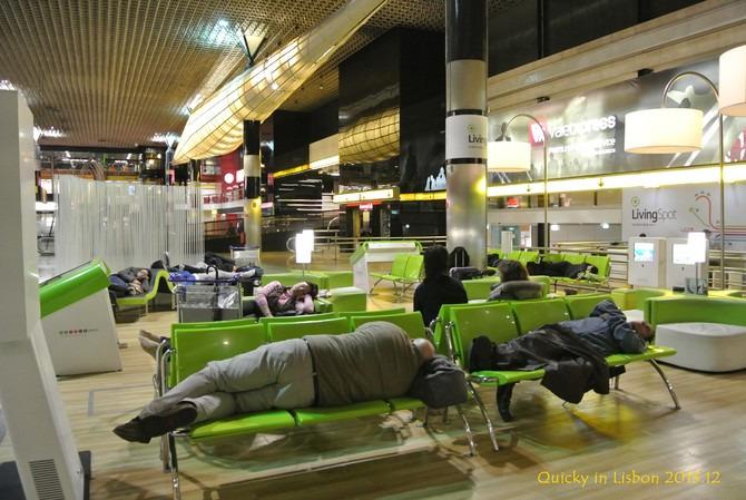 机场休息图片