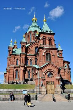俄罗斯东正教圣尼古拉大教堂旅游景点攻略图