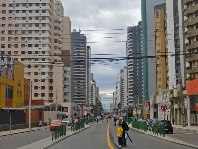 Curitiba街景图片