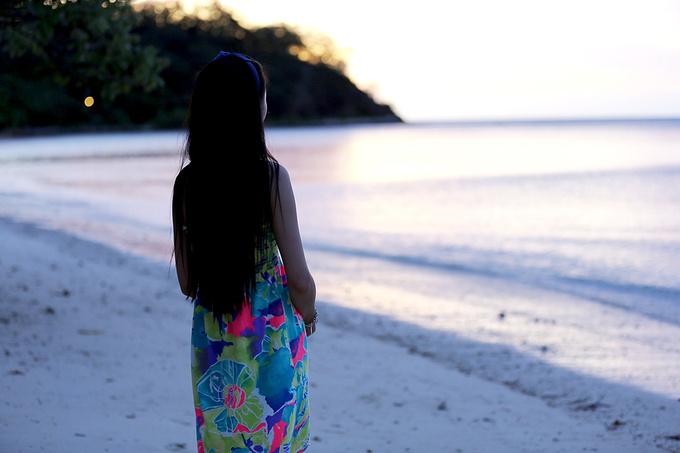 斐济日落图片