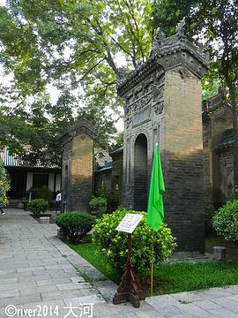 化觉巷清真大寺旅游景点攻略图