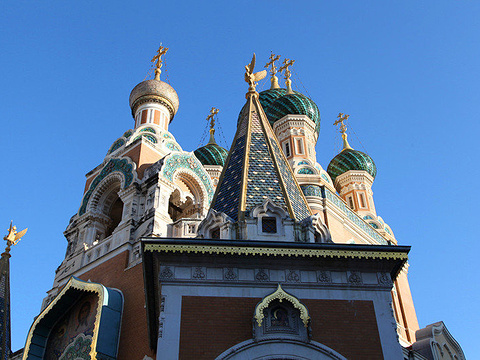 俄罗斯东正教圣尼古拉大教堂旅游景点图片