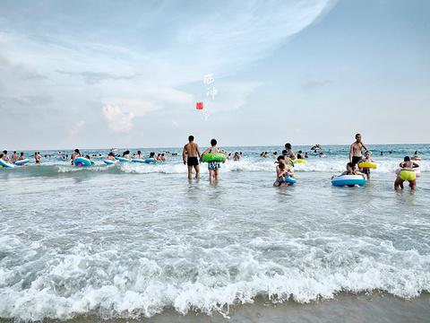 西冲沙滩旅游景点图片