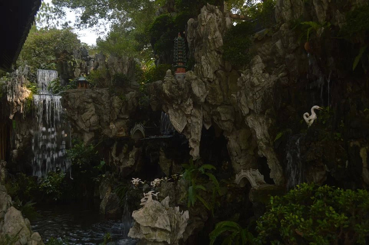 """""""宝墨园是岭南园林文化的代表,里面楼亭水榭,有山有水非常的漂亮_宝墨园""""的评论图片"""