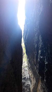 百里峡旅游景点攻略图