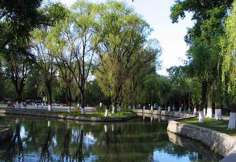 兆麟公园旅游景点攻略图