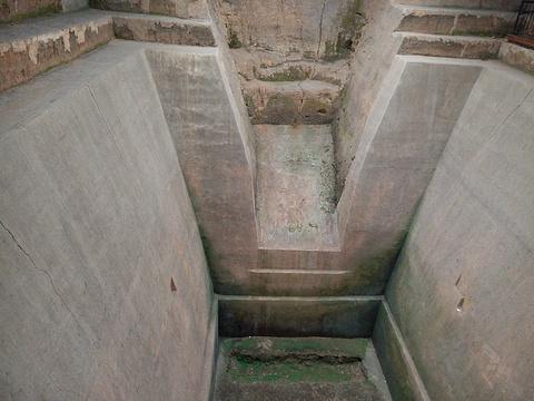马王堆汉墓遗址的图片
