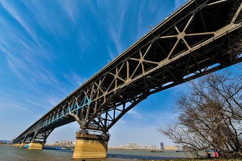 南京长江大桥的图片