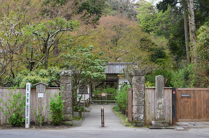 """""""明月院就是一处在山上的寺庙。没有很多的历..._明月院""""的评论图片"""