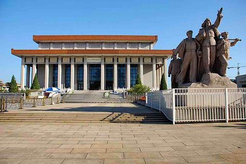 毛主席纪念堂的图片