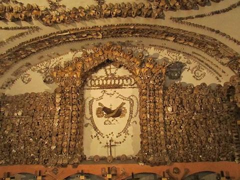 人骨教堂旅游景点攻略图