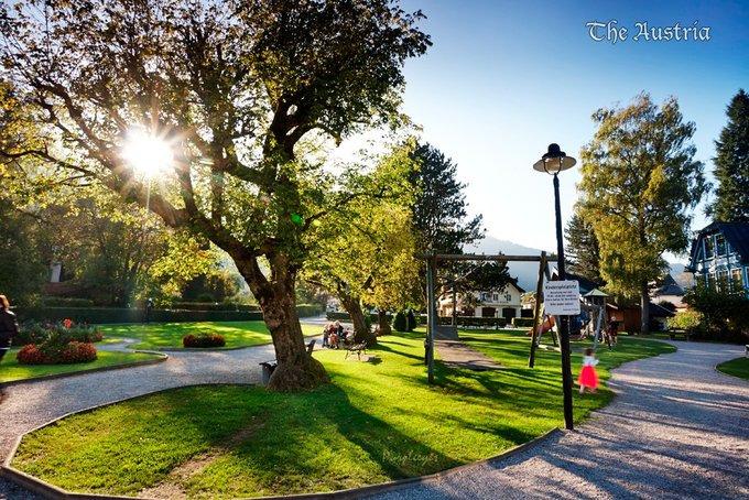 去湖区,小镇风景与美食图片