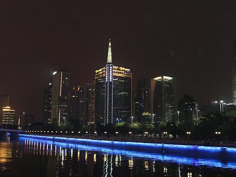 珠江夜游广州塔码头旅游景点图片