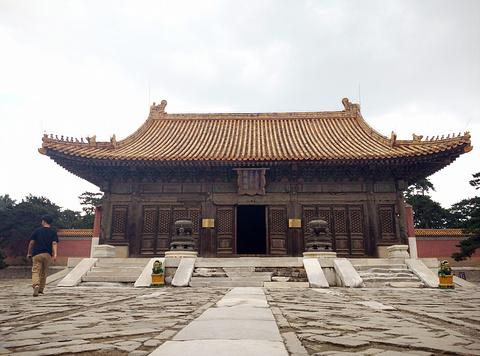 昌西陵旅游景点攻略图
