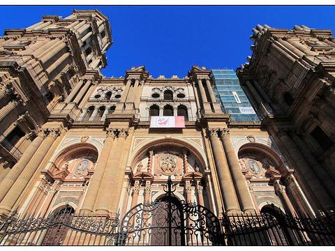 马拉加大教堂旅游景点图片