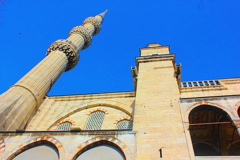 蓝色清真寺旅游景点攻略图
