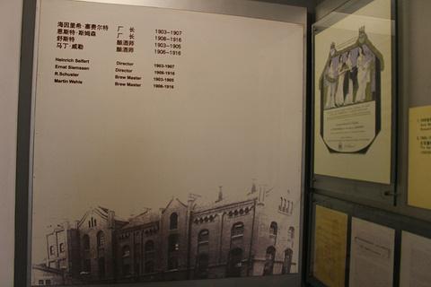 青岛啤酒博物馆旅游景点攻略图