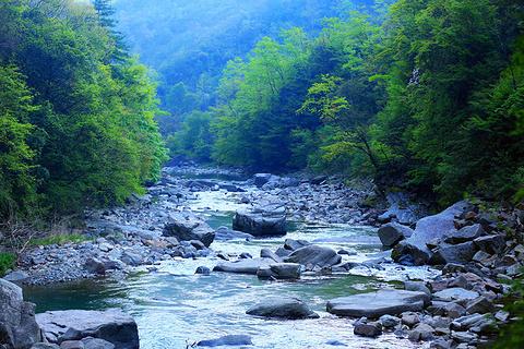 玉带河旅游景点攻略图