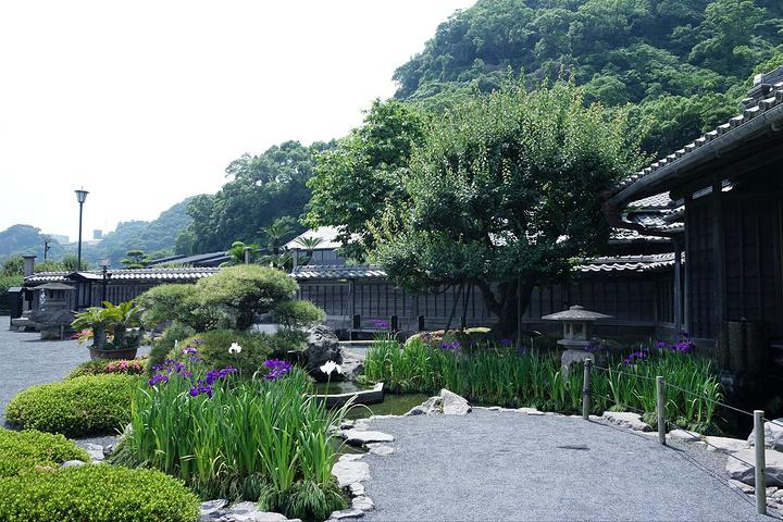 """""""仙岩园建于1658年,又名矶庭园,是岛津..._仙岩园""""的评论图片"""