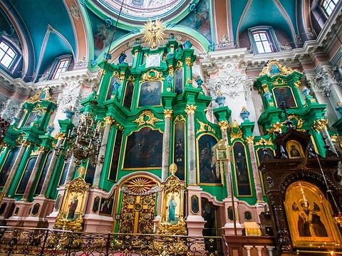 维尔纽斯东正教圣灵教堂旅游景点图片
