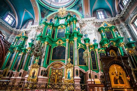 维尔纽斯东正教圣灵教堂旅游景点攻略图