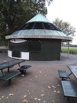 海德公园旅游景点攻略图