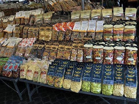 鲜花广场美食街旅游景点图片